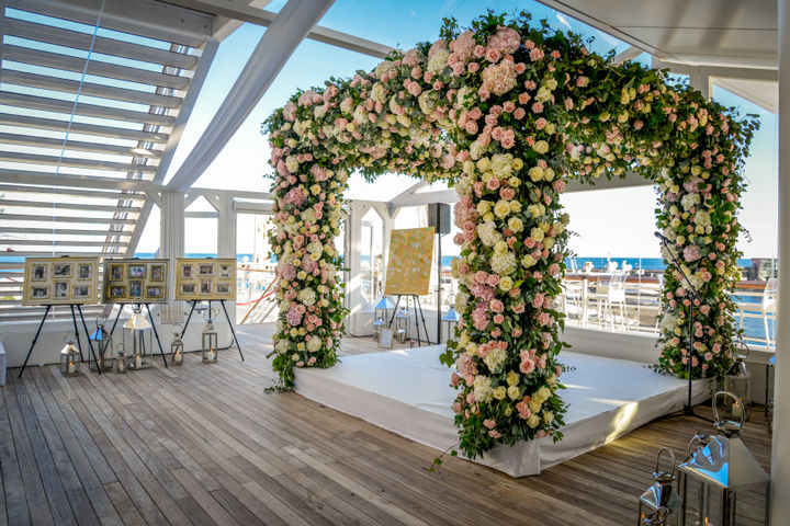 : Wedding in Yacht Club de Monaco
