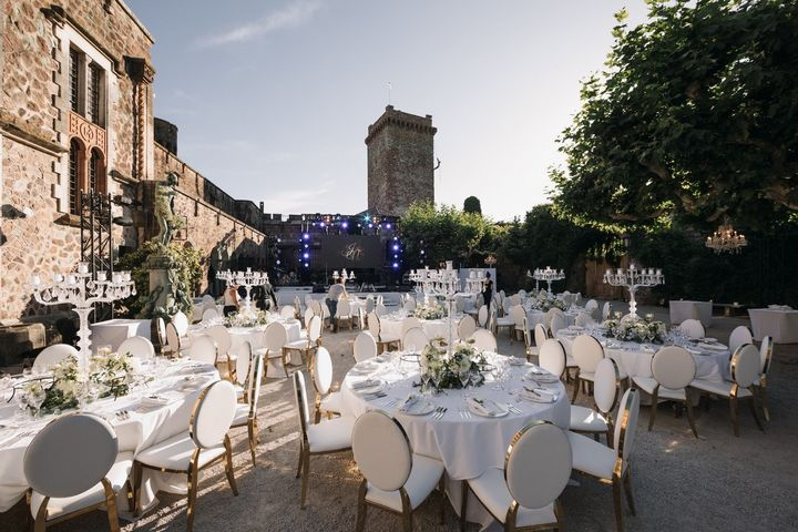 : Wedding in Château de la Napoule